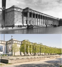 The Haus der Kunst House of Art in Munich is a rare fine example of Nazi Architecture that still stands today Completed in  by Paul Ludwig Troost as an art gallery a function it still serves