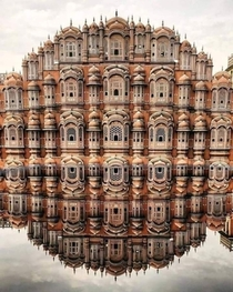 The Hawa Mahal or Palace of the Winds IndiaThe structure was built in  by Maharaja Sawai Pratap Singh the grandson of Maharaja Sawai Jai Singh who was the founder of Jaipur