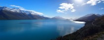 The Head of Lake Wakatipu - South Island New Zealand -