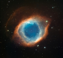The Helix Nebula captured by La Silla observatory in Chiles Atacama desert