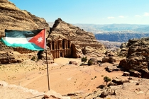 The hidden Monastery in Petra Jordan