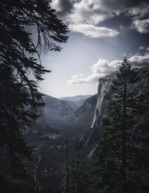 The hike to Glacier Point in Yosemite is tough but worth every step  x