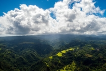 The hills and valleys of Oahu