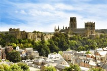 The Historic City Centre of Durham England - A UNESCO World Heritage Site