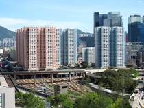 The Hong Kong MTR is funded in part by the many property developments built atop its train depots