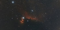 The Horsehead and Flame Nebulae widefield mosaic
