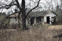 The house I grew up in Long abandoned