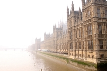 The Houses of Parliament in London fade into the mist  Photographed by Jasper Landman