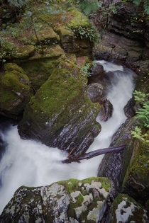 The Howk a relatively little-known limestone gorge in the Northern Lake District England UK