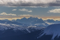 The Howson Range found in northern British Columbia Canada At
