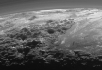 The ice mountains on Pluto