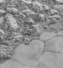 The icy dunes of Pluto