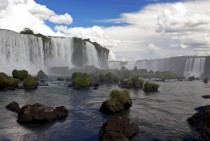 The Iguazu falls impressive to say the least