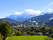 The incredible Alpine town of Garmisch Germany Living here has been amazing  OC