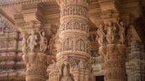 The incredible detail of Akshardham Temple New Delhi
