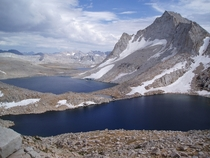 The Incredible Royce Lakes on the Crest of the Sierras elevation   OS photo by MoabPeakBagger