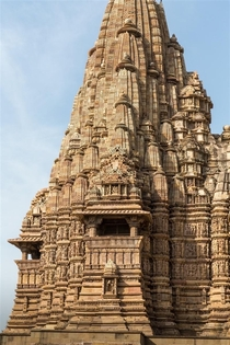 The Incredibly detailed Kandariya Mahadeva Temple at Khajuraho India
