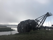 The infamous Quincy Dredge of Michigans Keweenaw Peninsula