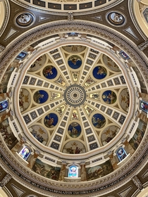The inside of St Josaphats Basilica in Milwaukee Wisconsin x