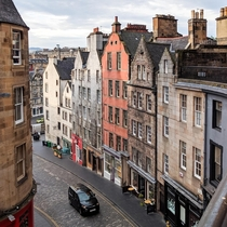 The inspiration for Diagon Alley - Edinburgh United Kingdom