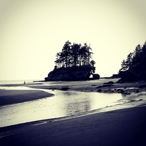 The island at Crescent beach Washington state