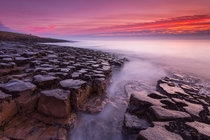 The jigsaw rocks of Low Newton Northumberland England  By Calum Gladstone