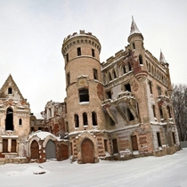 The Khrapovitsky Castle in Russia has slowly faded away over the last almost  years Located between Vladimir and Moscow it was abandoned in  when the owner left for Germany and didnt come back
