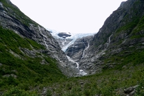 The Kjenndal Glacier Norway