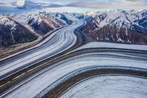 The Kluane Ice Fields photographed by Paul Nicklen