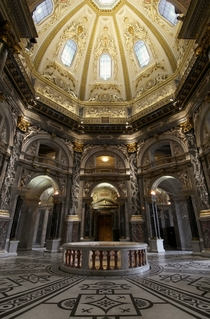 The Kunsthistorisches museum in Vienna Austria