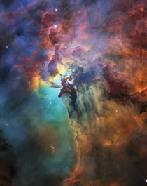 The Lagoon Nebula One Of Earths Closest Neighbors amp Visible To The Naked Eye In The Right Conditions