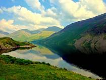 The Lake of The Lake District England  Aug