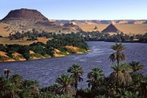 The Lakes of Ounianga in the heart of the Sahara Desert