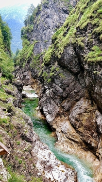 The Lammer-Klamm - kind of a canyon Scheffau am Tennengebirge Austria