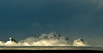 The Langjokull Mountains of Iceland