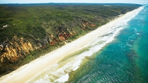 The largest sand island in the world - Fraser Island Australia