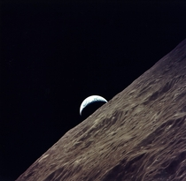 The Last Earthrise Seen by Human Eyes the Crew of Apollo  Saw this Sight on December th  while on their Return Trajectory from the Moon
