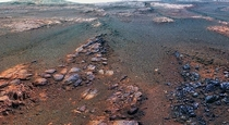The last photo that is sent by the Mars Opportunity Rover has been revealed by NASA --- a -degree panorama composed of  images