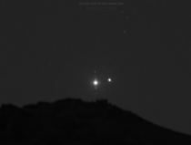 The Last sight of the great planetary conjunction
