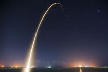 The launch of SpaceXs Falcon  rocket from the Cape Canaveral Air Force Station  Credit SpaceX Photos