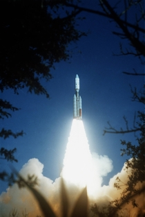The launch of the Voyager  Probe on top of a Titan Centaur Rocket in  It visited all  of the outer planets finally reaching Neptune in  Its sister craft Voyager  is now entering Interstellar space