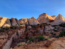 The least visited national park in Utah Capitol Reef