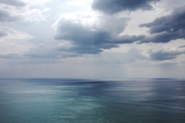 The Ligurian Sea from La Spezia Italy