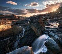 The Lost World - between Thrsmrk and Landmannalaugar Iceland  photo by Max Rive