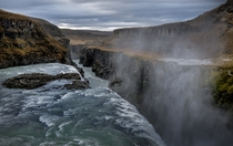The loudest place Ive ever been - Gullfoss Iceland