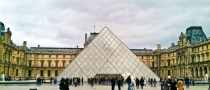 The Louvre Pyramid Paris France