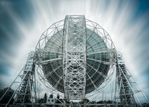 The Lovell Telescope at the Jodrell Bank Observatory in Cheshire England  By David Stoddart Photography