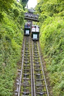 The Lynton amp Lynmouth Cliff Railway