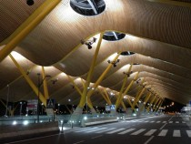 The Madrid-Barajas Airport terminal  is cooool