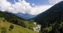 The magical Lidder River valley in Kashmir India